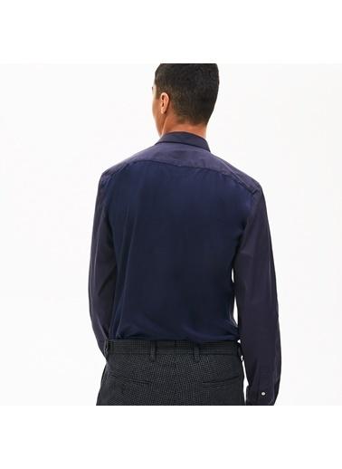 Lacoste Erkek Slim Fit Gömlek CH9762.166 Lacivert